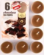 Duftteelichter Weihnachten 6er Pack Chocolate