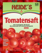 Tomatensaft BIB Heide Saft-Box 5 Liter Bag-in-Box Pfandfrei