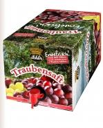 Schlör Traubensaft rot Erntefrisch BIB 5 l Bag in Box