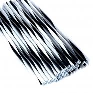 Jumbo Strohhalme Trinkhalme Twist S -  W - breit 25cm 500Stk