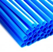 Jumbo Trinkhalme Ø8x250mm, Blau 1000 Strohhalme