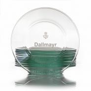 Dallmayr Glasablageschale rund für Teepyramide 12 Stk.