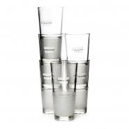 Absolut Vodka Glas - 6 Gläser 330ml Frozen Longdrink Scandibecher Absolut