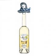 Alpenschnaps Steinbeisser Honig Willi 35 % vol., Williamsbirne mit Honig 0,5l Flasche mit Filzhut