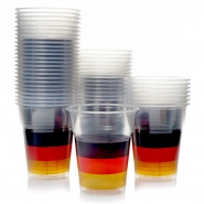 Ausschankbecher Plastikbecher 0,3l Deutschland 1200 Bierbecher