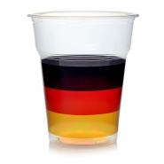 Ausschankbecher Plastikbecher 0,3l Deutschland 50 Bierbecher