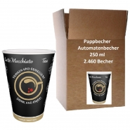 Intercups Papierbecher 250ml Automaten-Becher 41 x 60 Becher
