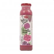 Bauer Smoothies rosa Drink vegan aus Fruchtsaft, Fruchtmark 250 ml