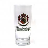 Bierglas Privatbrauerei Metzler mit Wappen 0,25 l