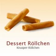 Biscate Dessert Knusper Röllchen ca. 180 Stück im Karton