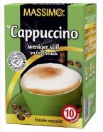 Massimo Cappuccino weniger süß im Geschmack 10 x 15g