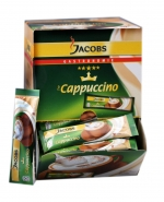 Jacobs Cappuccino Tassenportionen 84 x 11g in Dispenser Box