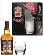 Chivas Regal 12 year Whisky 40% Vol. Gentlemen BBQ-Pack