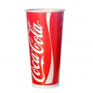 50 Coca Cola Becher 0,5l/0,6l Kaltgetränkebecher Eichstrich