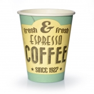 Coffee to go Becher 0,2l Pappbecher Espresso fresh 50 Stk.