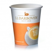 Darboven Coffee to go Becher 0,2l Pappbecher Kaffeebecher 1000 Stk