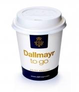 200 Dallmayr Coffee to go Becher 0,2 l mit Deckel Weiss