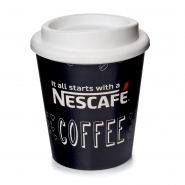 Nescafé Coffee to go Becher Thermobecher 0,3l Mehrwegbecher mit Deckel Kunststoff
