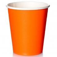 Coffee to go Becher 0,4l Orange 250 Pappbecher 48cl