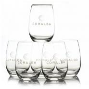 CORALBA Gläser 6er SET Stölzle Saftglas