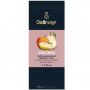 Dallmayr Tee Pocket Früchtetee Apfel-Birne 1er Pack 30 x 3,5g