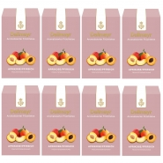 Dallmayr Früchtetee Aprikose - Pfirsich Aromatisiert 8 x 100g