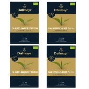 Dallmayr Darjeeling First Flush Bio Schwarzer Tee 80 Pyramiden x 2,5g