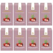 Dallmayr Früchtetee Erdbeer-Lemongras Aromatisiert 8 x 100g