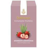 Dallmayr Früchtetee Erdbeer/Lemongras 100g