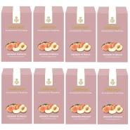 Dallmayr Früchtetee Weißer Pfirsich Aromatisiert 8 x 100g