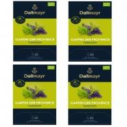 Dallmayr Garten der Provence 80 Tee Pyramiden x 2,5g