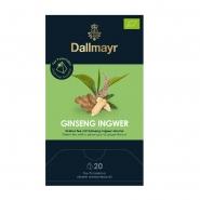 Dallmayr Ginseng Ingwer BIO 20 Tee Pyramiden x 2,5g
