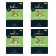Dallmayr Ginseng-Ingwer Bio Tee 80 Pyramiden x 2,5g