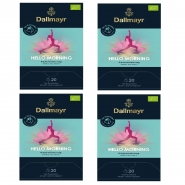 Dallmayr Hello Morning Bio Kräutertee 80 Pyramiden x 2,5g