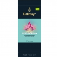 Dallmayr Tee Pocket Kräutertee Hello Morning Bio 1er Pack 30 x 2,5g