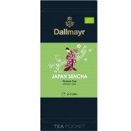Dallmayr Tee Pocket Grüner Tee Japan Sencha Bio 1er Pack 30 x 2,5g