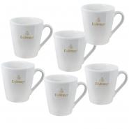 Dallmayr Kaffeehaferl 0,3l Kaffeebecher 6 Stk.