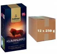 Dallmayr Kilimanjaro Kaffeerarität 12 x 250g Röstkaffee gemahlen