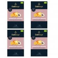Dallmayr Maracuja - Orange Bio Früchtetee 80 Tee Pyramiden x 4g