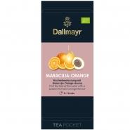 Dallmayr Tee Pocket Maracuja-Orange-Früchtetee Bio 1er Pack 30 x 4,0g