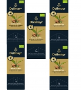 Dallmayr Tee Champs Schwarztee mit Gewürzen Masala Chai 5er Pack 16 x 4,3g