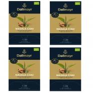 Dallmayr Masala Chai Bio Schwarzer Tee 80 Pyramiden x 3g