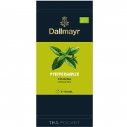 Dallmayr Tee Pocket Bio Pfefferminze 1er Pack 30 x 1,75g