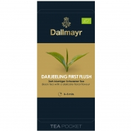 Dallmayr Tee Pocket Darjeeling First Flush Bio 1er Pack 30 x 2,5g