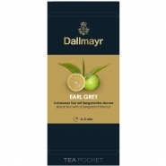 Dallmayr Tee Pocket Schwarzer Tee Earl Grey 1er Pack 30 x 2,2g
