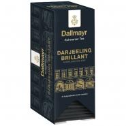 Dallmayr Schwarzer Tee Darjeeling Brilliant Kuvertiert 25 x 2,0g