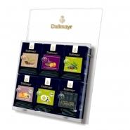 Dallmayr Teedisplay Acryl - transparent für Tee Pyramiden