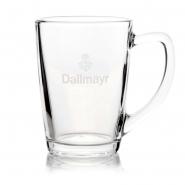 Dallmayr Teeglas mit Logo 0,33 ltr. Pyramide 1 Stück