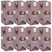 Dallmayr Früchtetee Hagebutte-Hibiskus Kuvertiert 8er Pack 25 x 3g
