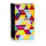 Dallmayr Teewelt Mix aus 20 verschiedenen Sorten Tee Pyramiden